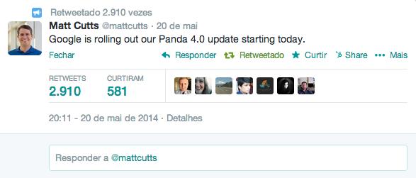 Google lançou Panda 4.0. Veja o estrago que fez no SEO.