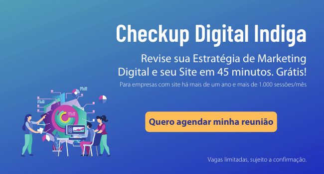 Checkup Digital Indiga - Avaliação de marketing digital para empresas